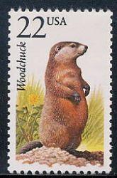 Сурки на почтовых марках 7