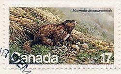 Сурки на почтовых марках 4
