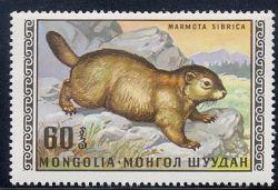 Сурки на почтовых марках 1