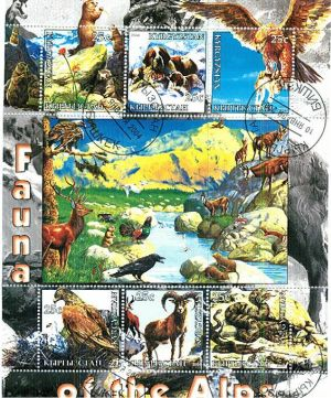 Сурки на почтовых марках