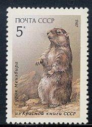 Сурки на почтовых марках 5