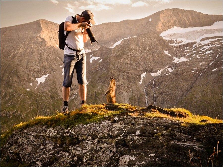 Любимая фотография Péter Hegedűs, на которой он запечатлен сам. Снимок был сделан его другом Zoli во время путешествия в Альпах этим летом.