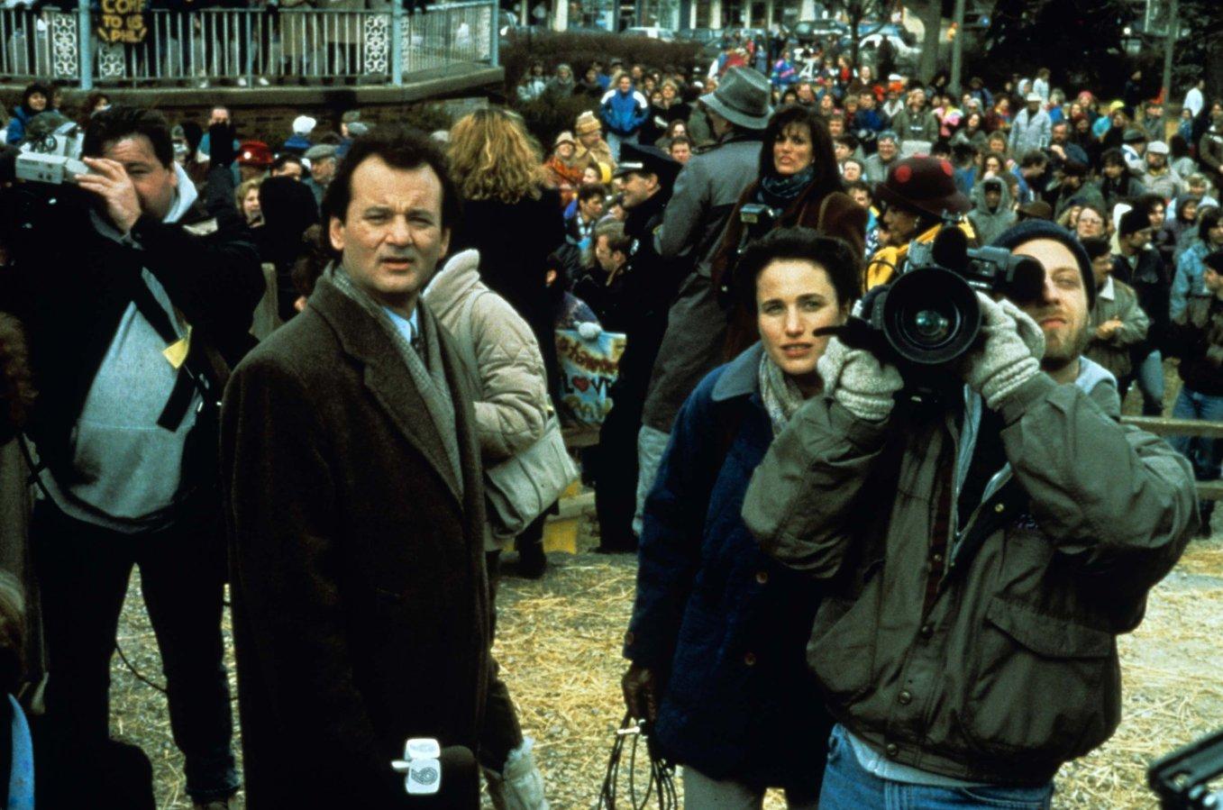 """После выхода в 1993 году на экраны комедии """"День Сурка"""" с Биллом Мюрреем в главной роли праздник """"пошел в массы"""""""