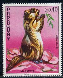 Сурки на почтовых марках 2