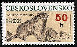 Сурки на почтовых марках 8